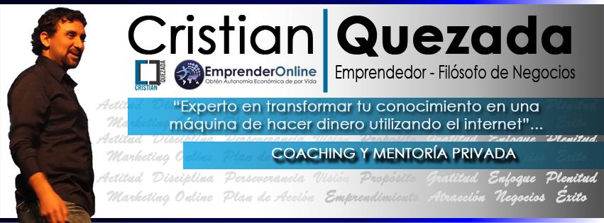 Coaching Privado con Cristian Quezada